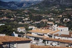Aerial view of Altea, Spain Stock Photo