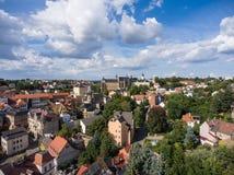 Aerial View Altenburg Thuringia Castle old medieval town Royalty Free Stock Photo