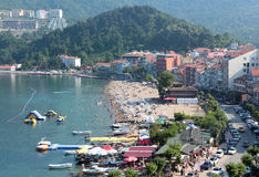 Aerial view of Amasra, Turkey Royalty Free Stock Photo