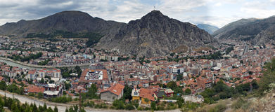 Aerial view of Amasya Stock Photos