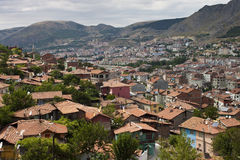 Aerial view of Amasya Stock Image