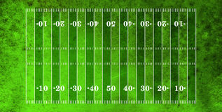 Aerial View of American Football Field Stock Photos