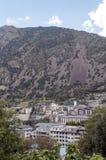 Aerial view of Andorra la Bella Royalty Free Stock Photo