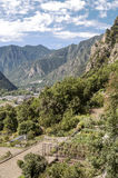 Aerial view of Andorra la Bella Royalty Free Stock Images