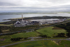 Aerial View of Anglesey Stock Images