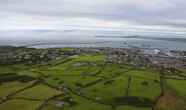 Aerial View of Anglesey Royalty Free Stock Image