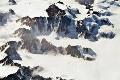 Aerial view of the antarctica Stock Images