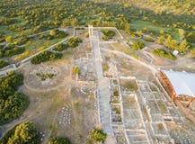 Aerial view of Apollonas Ilatis ancient site, Limassol, Cyprus Stock Photo