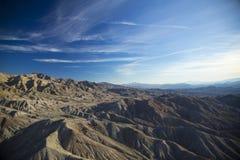 Aerial View of Arizona Desert stock photo
