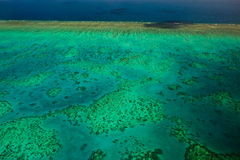 Aerial View of Arlington Reef in Australia Stock Photos