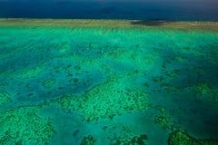 Aerial View of Arlington Reef in Australia Stock Photos