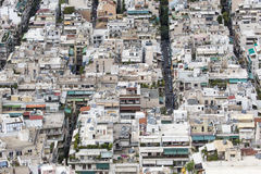 Aerial view of Athens, Greece. Athens is the capital of Greece a Stock Image