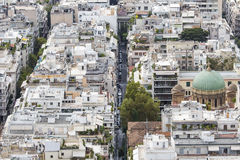 Aerial view of Athens, Greece. Athens is the capital of Greece a Royalty Free Stock Photos