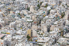 Aerial view of Athens, Greece. Athens is the capital of Greece a Royalty Free Stock Photo