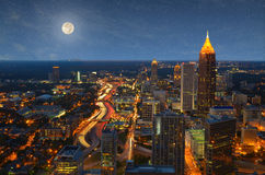 Aerial View of Atlanta Stock Image