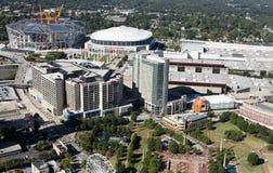 Aerial view of Atlanta, GA. Royalty Free Stock Image