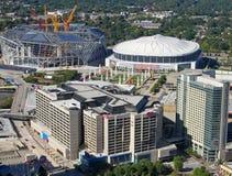 Aerial view of Atlanta, GA. Stock Images