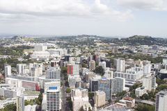 Aerial view on Auckland Stock Image