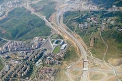Aerial view Başakşehir Fatih Terim Stadium, Istanbul Stock Image