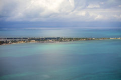 Aerial view of bahamas Royalty Free Stock Images