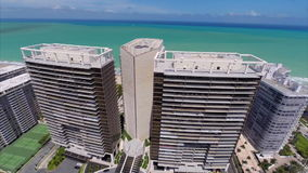 Aerial view of Bal Harbour Florida Royalty Free Stock Photo