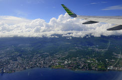 Aerial view on Bali Stock Photos