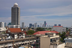 Aerial view of Bangkok Royalty Free Stock Photo