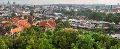 Aerial view of Bangkok Stock Photo