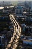 Aerial view of Bangkok Royalty Free Stock Photo