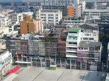 Aerial view of Bangkok Stock Image