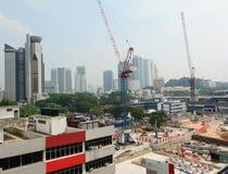 Aerial view of Bangkok, Thailand Royalty Free Stock Images
