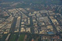 Aerial view of Bangkok, Thailand stock image