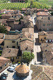Aerial view of Barbaresco, Italy Royalty Free Stock Image