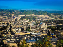 Aerial view of Bath Royalty Free Stock Photo
