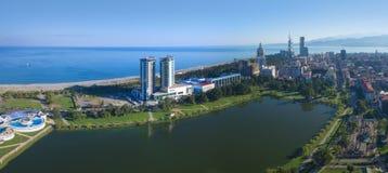 Aerial view of Batumi Stock Photo