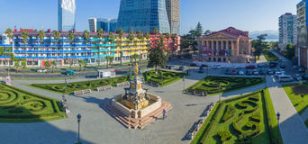 Aerial view of Batumi Royalty Free Stock Images