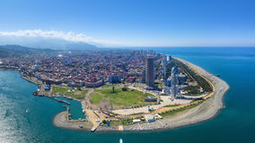 Aerial view of Batumi Royalty Free Stock Image