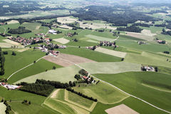 Aerial View of Bavaria Stock Image