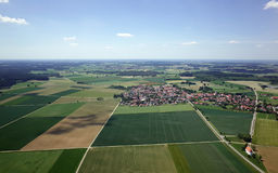 Aerial View of Bavaria Stock Images