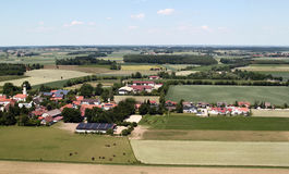 Aerial View of Bavaria Royalty Free Stock Photography