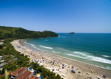 Aerial view of beach in Brazil Royalty Free Stock Image