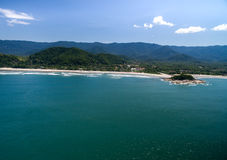 Aerial view of beach in Brazil Stock Photos