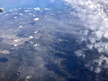 Aerial view of Florida stock images