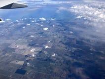 Aerial view of Florida royalty free stock photos
