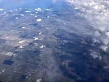 aerial view of Florida stock image