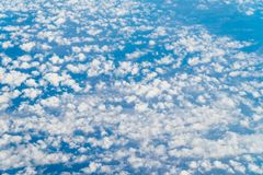 Aerial View Of Beautiful Landscape Of Earth Clouds. Aerial View Of Beautiful Landscape Of Earth Sky Clouds royalty free stock photos