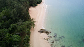 Aerial view of beauty nature tropical landscape Royalty Free Stock Image