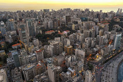 Aerial View of Beirut Lebanon, City of Beirut, Beirut city scape Stock Images