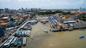 Aerial view of Belem do Para in Brazil Stock Photos