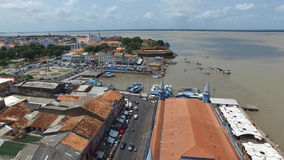 Aerial view of Belem do Para in Brazil Stock Photography
